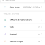 MIUI9 smart assistant feature for Global Beta User