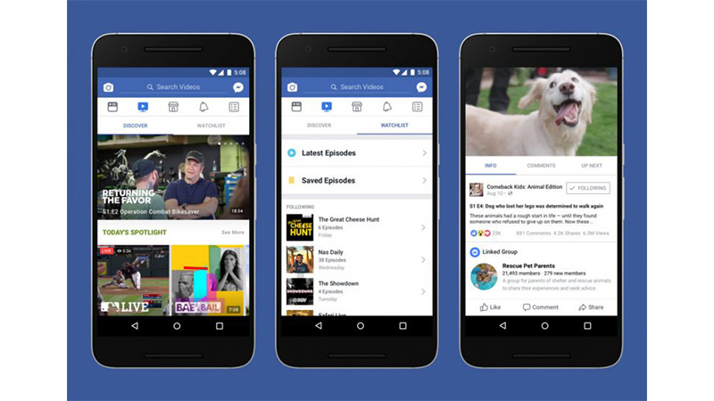 facebook to bring its watch video service in india very soon
