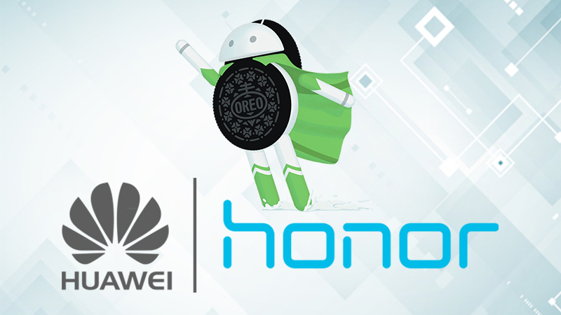 huawei and honor android Oreo update list