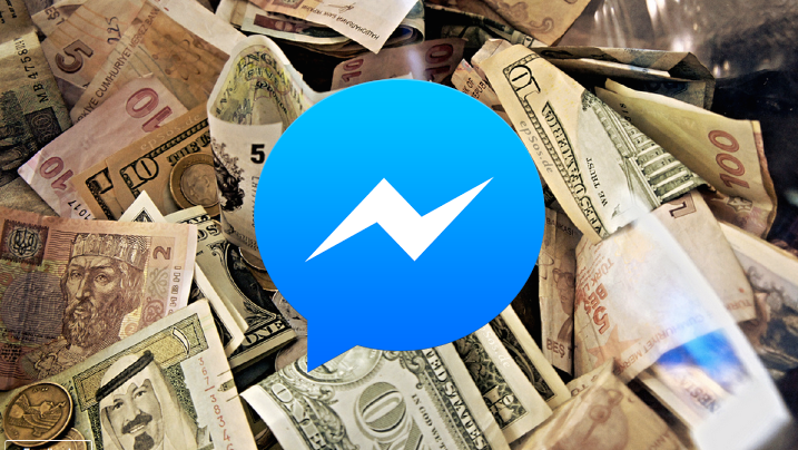 paypal payments in facebook messenger