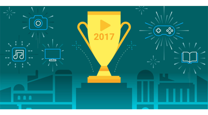 Google announced Best Apps, Games, Movies, Songs and Books of 2017