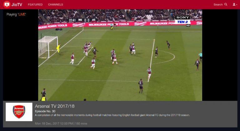 watch JioTV