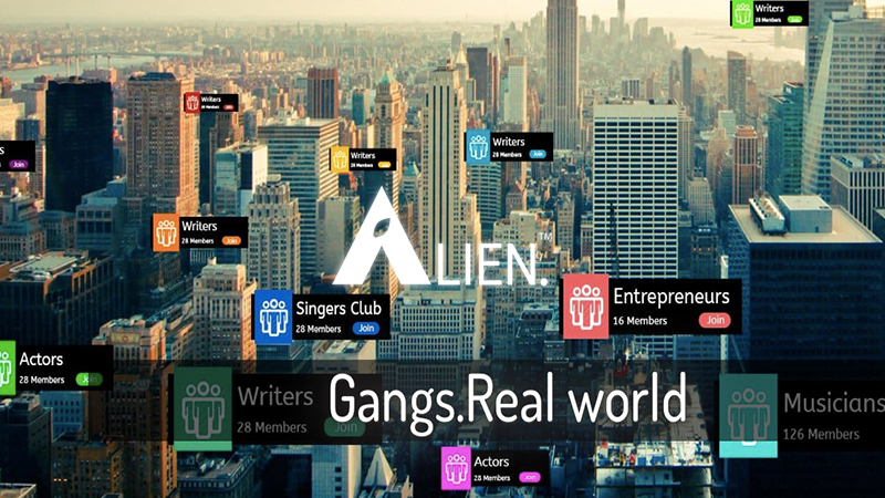 alien augmented reality social networking app