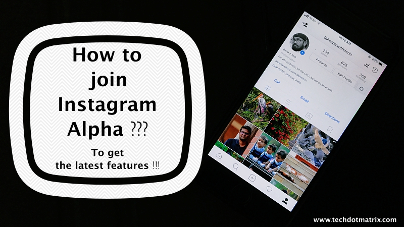 how to join instagram alpha to get the latest features