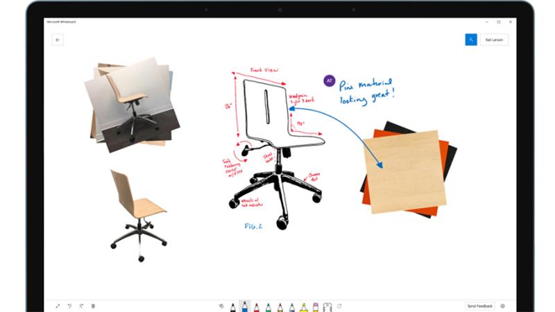 microsoft whiteboard app