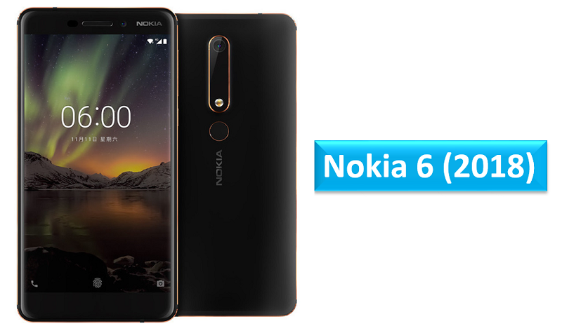 Nokia 6 (2018) specifications