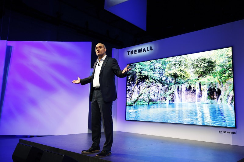 The Wall Modular MicroLED 146 inch TV
