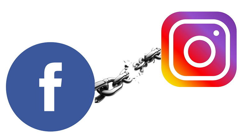 Unlink Facebook and Instagram
