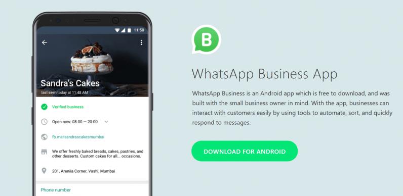 WhtasApp Business App