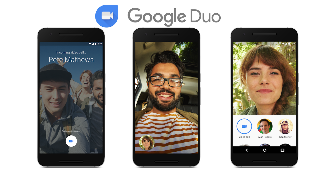 google duo call anyone