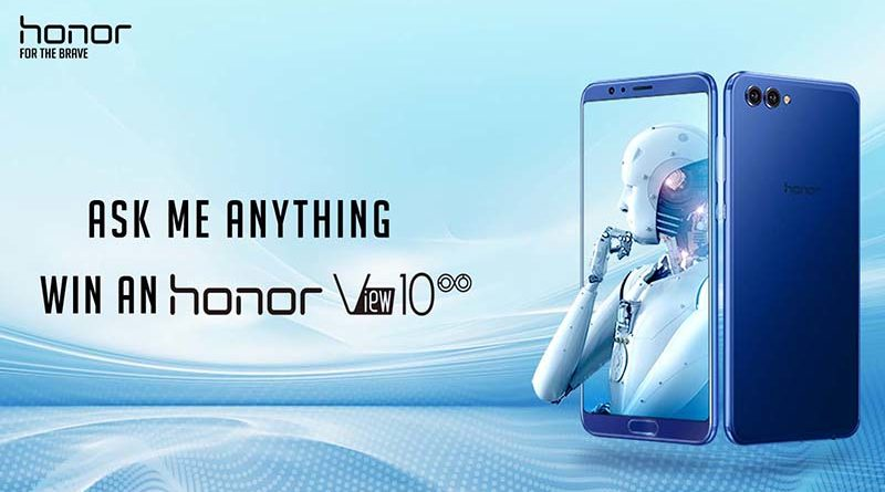 honor view 10 in india