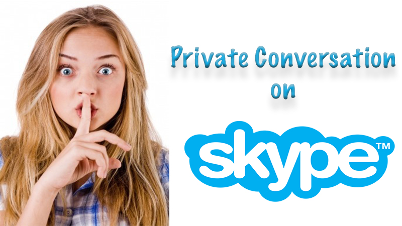 private conversation on skype