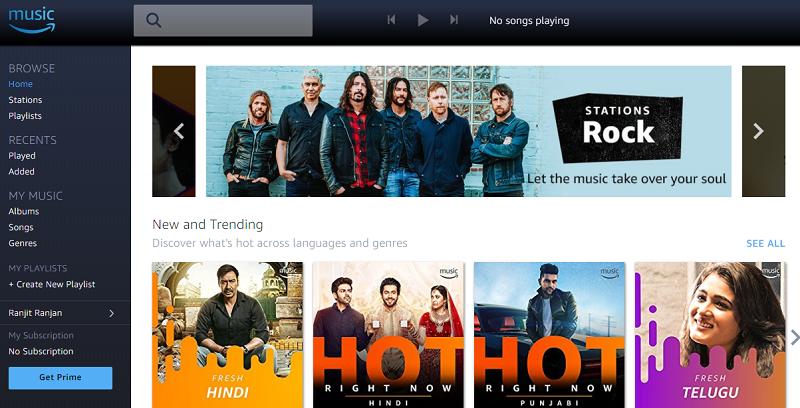 Amazon Prime Music free