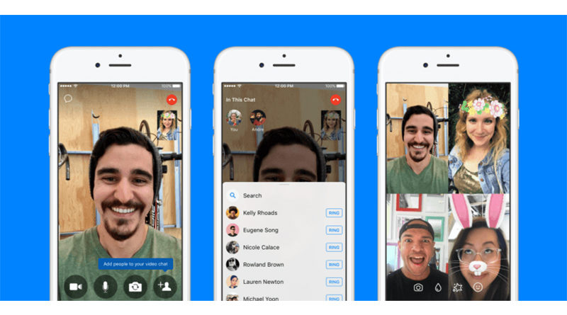 Facebook Messenger now allows you to add friends during call