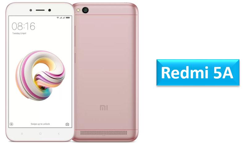 Redmi 5A Rose Gold