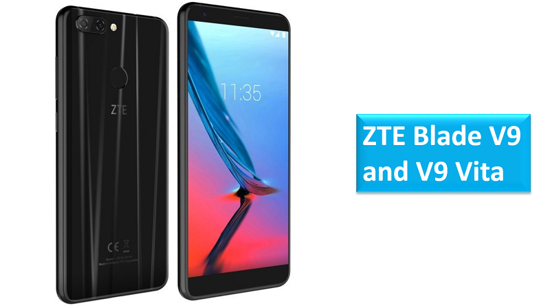 ZTE Blade V9 and ZTE Blade V9 Vita