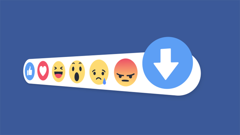 facebook testing downvote button