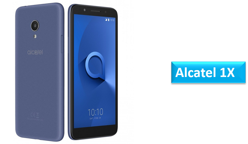 Alcatel 1X Android Oreo (Go edition)