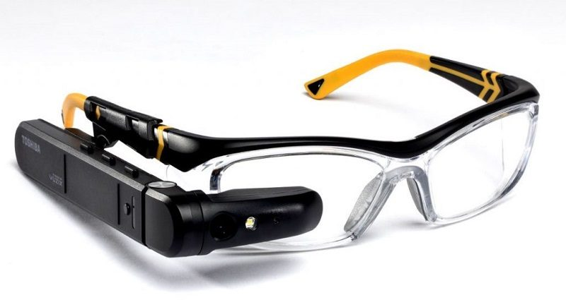 Toshiba dynaEdge AR Smart Glasses