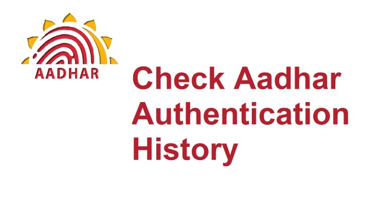 Check Aadhaar Authentication History Online