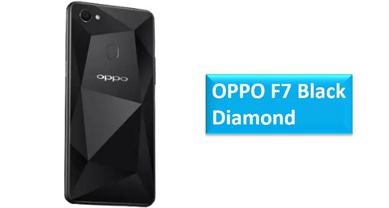 Oppo F7 Black Diamond