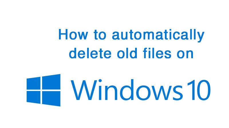 delete old files