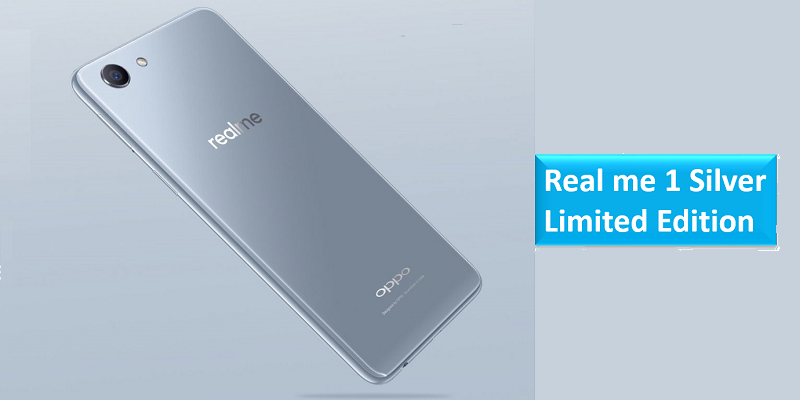 OPPO Realme 1 Moonlight Silver Limited Edition
