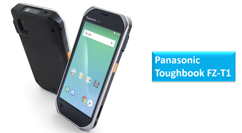 Panasonic Toughbook FZ-T1 rugged handheld smartphone
