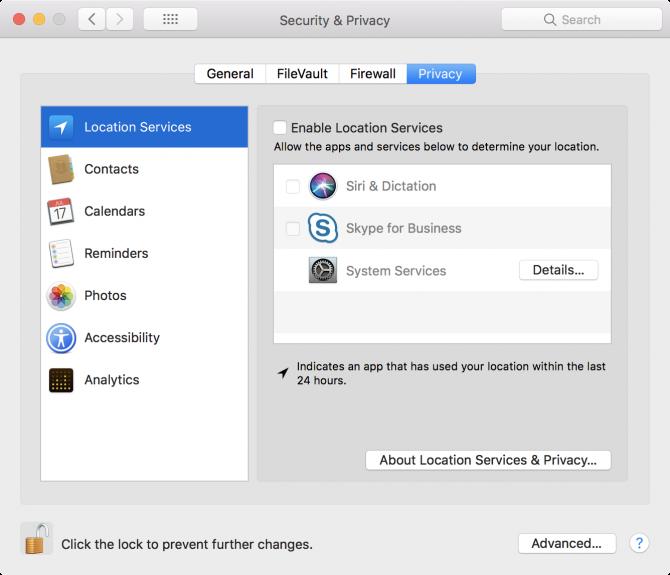 mac apps data access