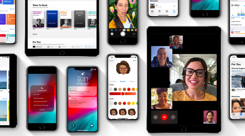 Exciting Features of iOS 12