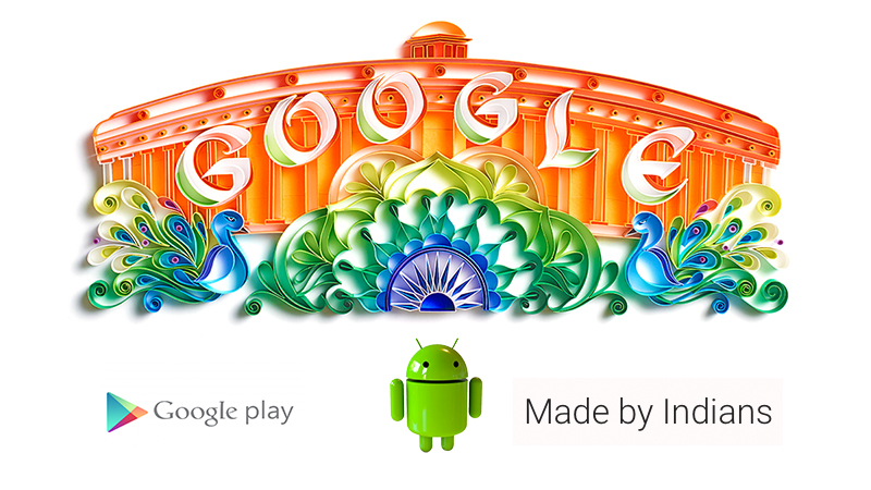 google made by indians independence day
