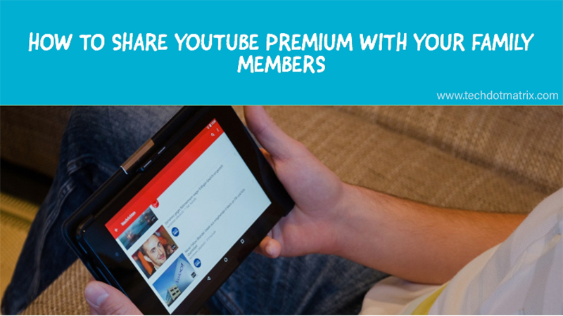 how to share youtube premium