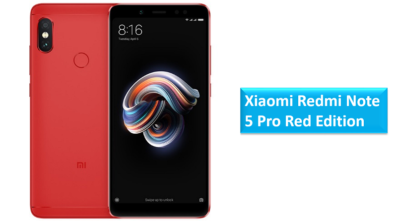 Xiaomi Redmi Note 5 Pro Red Edition