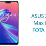 ASUS Zenfone Max Pro M2 FOTA update