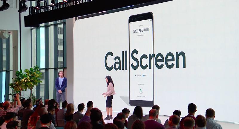 Call Screen in Pixel