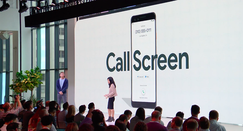 Call Screen in Pixel