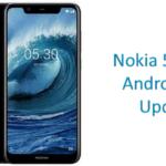 Nokia 5.1 Plus Android 9.0 Pie update