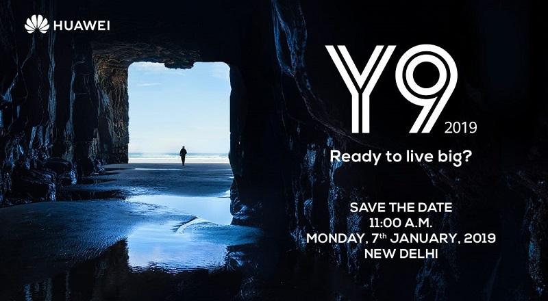 Huawei Y9 2019 invite