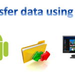 How to transfer data from Android device to PC using WiFi