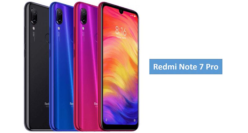 Xiami Redmi Note 7 Pro