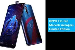 OPP F11 Pro Marvel Avengers Limited Edition
