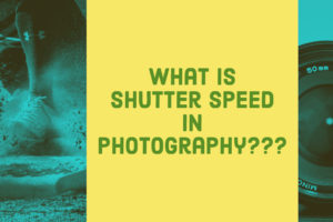 shutter speed in photography