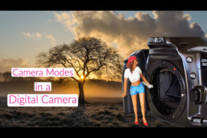 camera modes in a digital camera