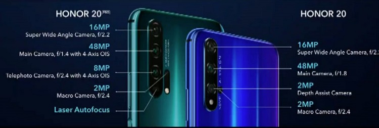 HONOR 20 and HONOR 20 Pro launched