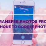 How to move photos from iPhone to Google Photos