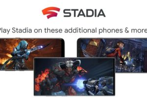 Google Stadia online cloud gaming platform