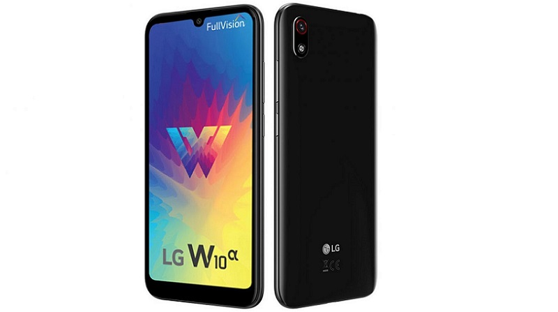 LG W10 Alpha specifications