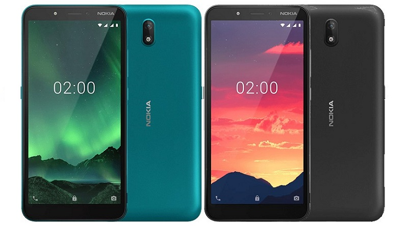 Nokia C2 Android Go Edition 4G phone specifications