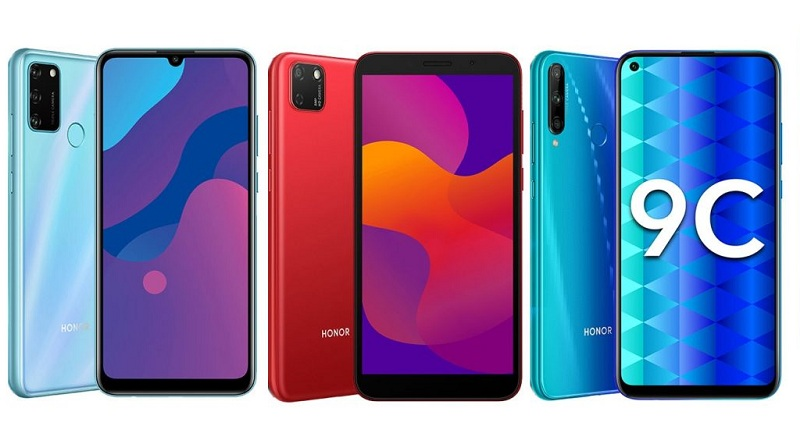 HONOR 9A, HONOR 9C and HONOR 9S Smartphone