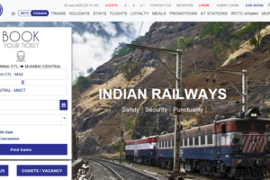 how to book train ticket online